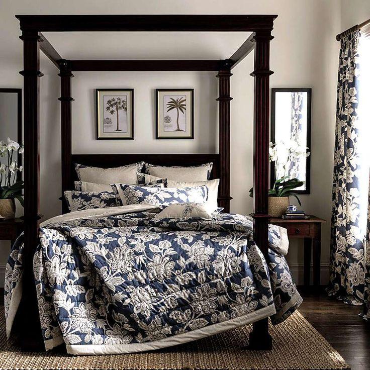 Dorma Samira Blue Bedspread | Dunelm