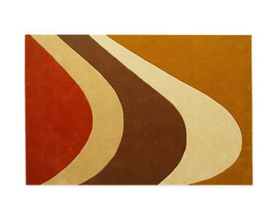 Rug From Scandinavian Designs Very 70s Really Like It