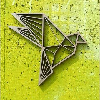 Vogel - Deko Motiv Holz