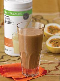 Herbalife - Brasil - Shake Sabor Mousse de Maracujá e Cacau