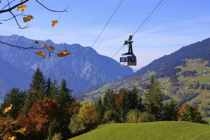Your included travel pass will also be valid on certain cable cars