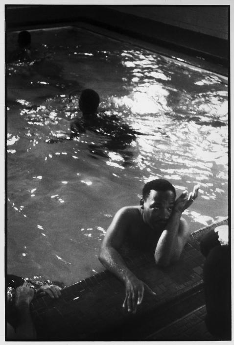 Henri Cartier-Bresson :: Martin Luther King, Atlanta, Georgia, 1961
