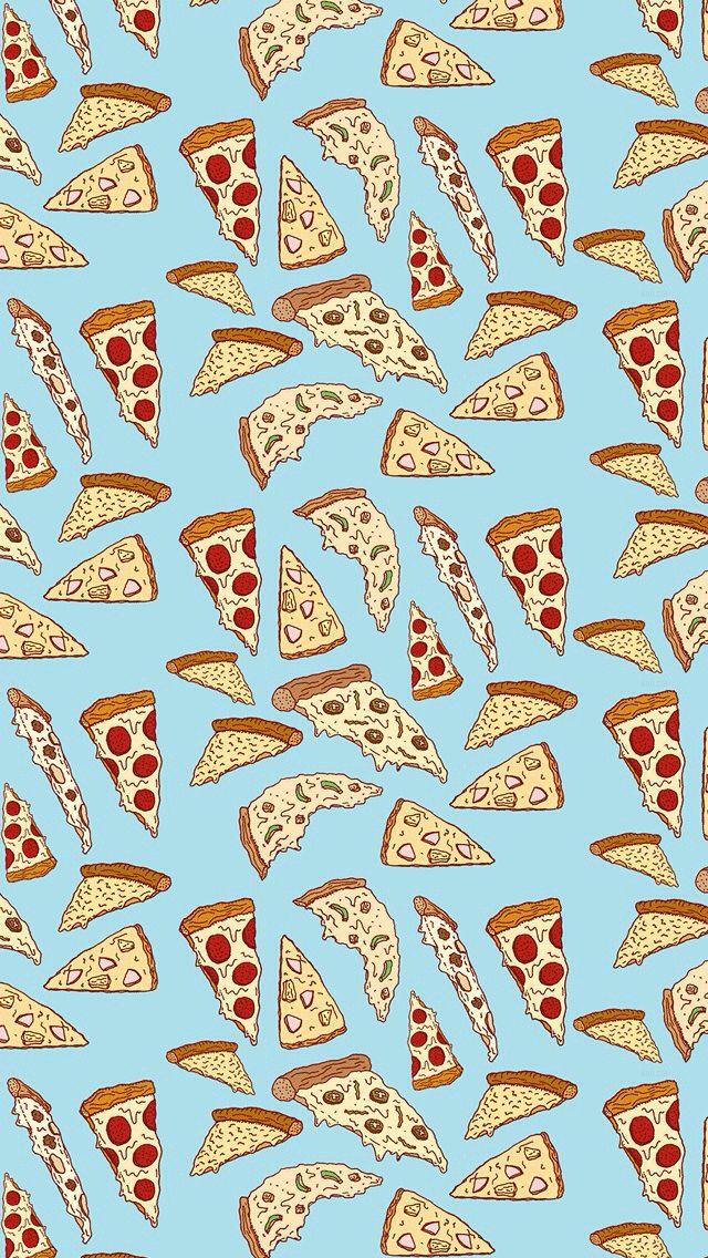 pizza wallpaper pattern.