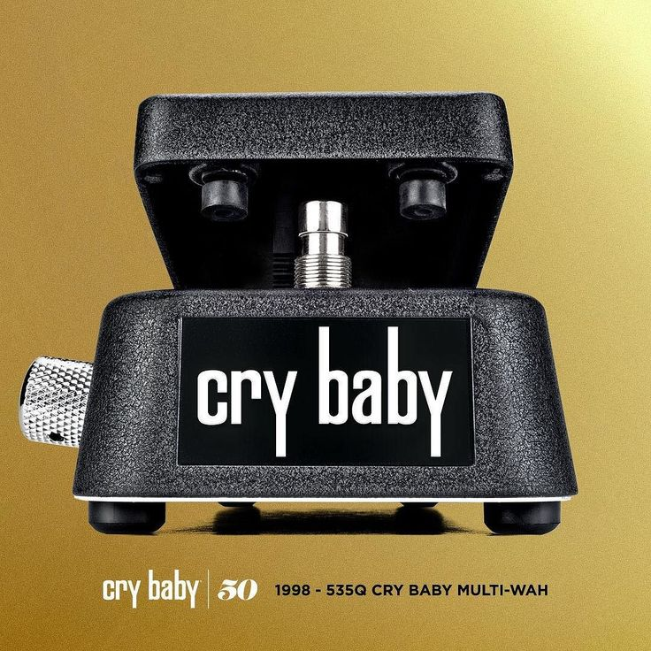 THE EVOLUTION OF THE CRYBABY WAH: Cry Baby 535Q Multi-Wah - 1998  In 1998 we came out with what we like to call the Swiss Army Knife of wah pedals. The Cry Baby 535Q Multi-Wah (originally 535 Multi-Wah released in 1994) provides control over the most important wah parameters so you can create your ultimate wah tone. Choose from six different frequency ranges set the intensity of the wah response and boost your effect signal by up to 18dB so you can rise above the mix when you kick the…