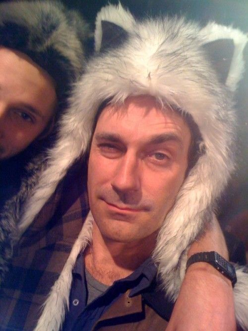 Nothing to see here people...just John Hamm in a spirit hood