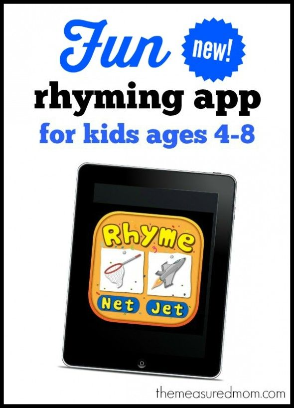 Bud's Rhyming Words gives kids practice reading 40 word families! App is 50% off through 7/20/14.