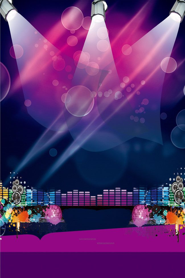 Academy Fantasia New Years Party Poster Background