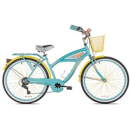 26 inch Women's Margaritaville Multi-Speed Cruiser Bike, Blue