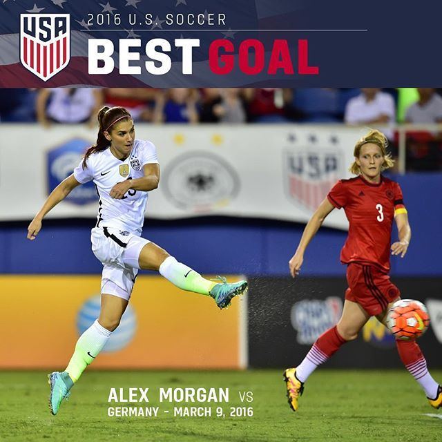 Alex Morgan's stellar finish vs.  wins U.S. Soccer's Best Goal of the Year!‬