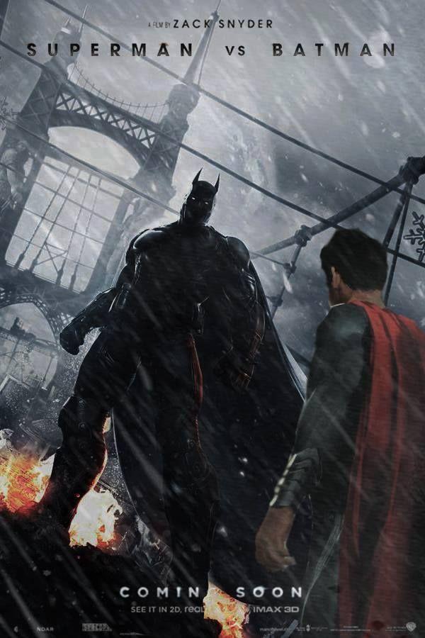 Batman vs. Superman. This is really how Batman should look.