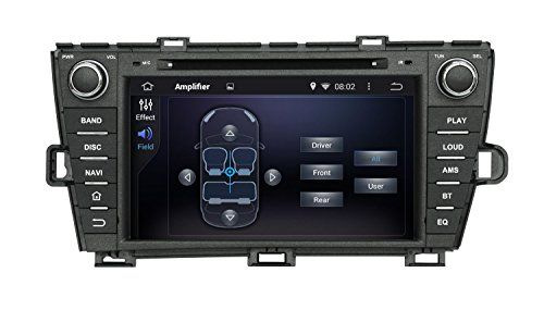 8 Inch Quad Core 1024*600 Android 5.1 Car DVD GPS Navigation Player for Toyota Prius 2009-2013 (Left Driving) With Radio Bluetooth 3G Wifi Steering Wheel Control