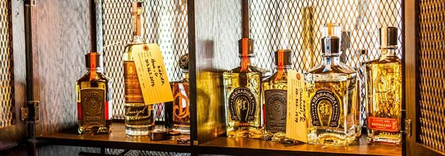 La Biblioteca de Tequila at Breathless Cabo San Lucas in Mexico | My kind of resort! #tequila