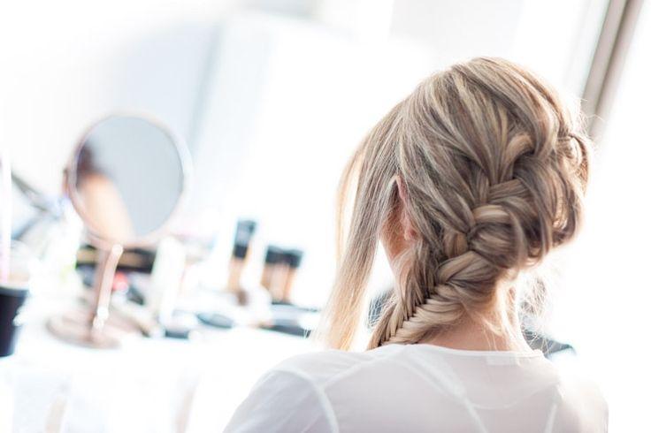 Fishtail French braid! Bohemian & fresh! Hair by Antigoni Livieratou #athenshair Photo by Petros & Errika