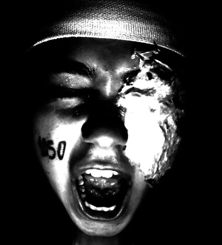 The scream. Gaza 2014                              J.T.C