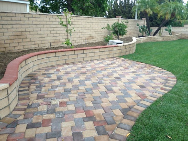 Flexlock Polymeric Sand With Colorfull Paver