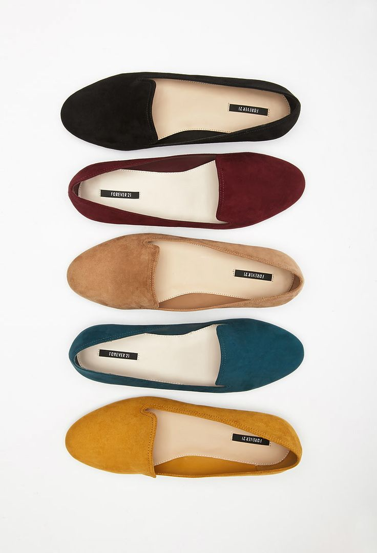 Faux Suede Loafers - Shoes - 2000132397 - Forever 21 UK