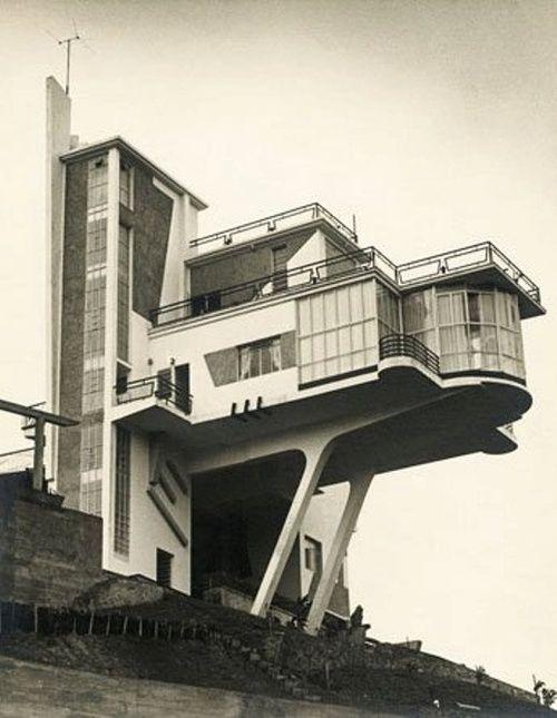 Villa Monzeglio, Colinas de Bello Monte, Caracas. Antonio Montini, 1953.