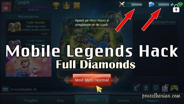 Cara Cheat Diamond Mobile Legends Aplikasi Trik Android Gambar Lucu