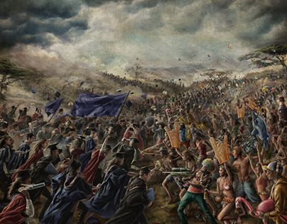 """Check out new work on my @Behance portfolio: """"Allan Gray Investments Epic battle scene"""" http://be.net/gallery/40809485/Allan-Gray-Investments-Epic-battle-scene"""