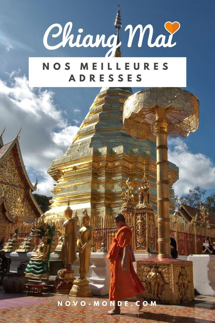 Chiang Mai: Guide pratique Nous avons vécu près de 5 mois en Thailande à Chiang Mai plus exactement. On vous propose un petit article avec toutes nos bonnes adresses de restos et bars, les activités à ne pas manquer dans les environs et bien plus. Que vous soyez en voyage en Thailande ou expatrié au pays du sourire ce petit guide devrait pouvoir vous inspirer un peu ;)