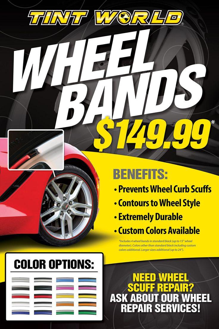Tint World #WheelBands Promotion