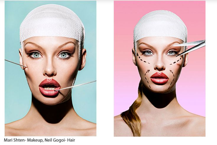 plastic surgery fashion editorials - Google Search