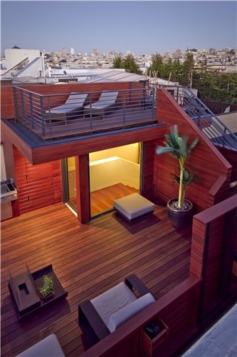 Rooftop Weight Limit  Sustainable Rooftop  Studio Peek Ancona  San Francisco, CA