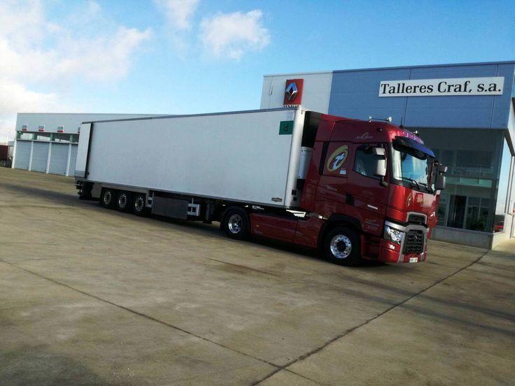 RENAULT TRUCKS T 520 HIGHCAB T4X2 E6 - FELISA DE LA VARGA - LEON