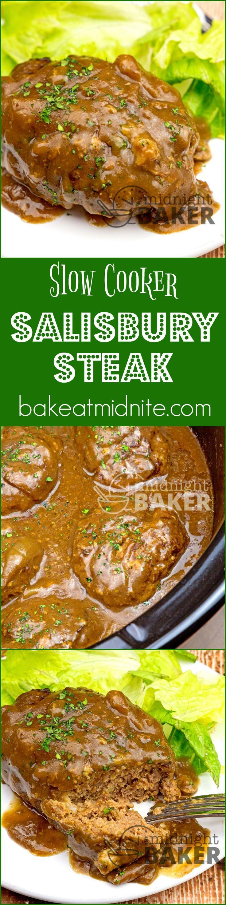 """Salisbury steak is a great American comfort food and it cooks low and slow in your crock pot. The family will love this and so will you! Salisbury Steak: Easy And Comforting When I think """"comfort food,"""" salisbury steak is always in that list. It's pretty easy to make and it's inexpensive too. Hence, it's...Read More »"""
