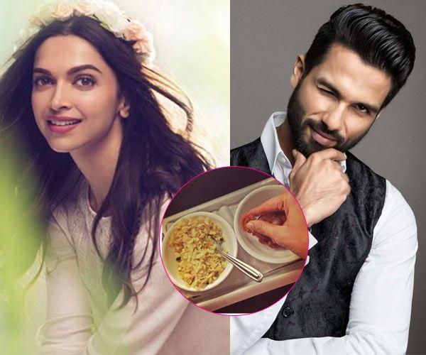 Sanjay Leela Bhansali, Deepika Padukone is stealing your food while you're shooting with Shahid Kapoor #FansnStars