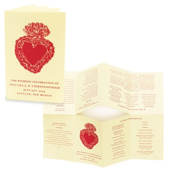 Best Event Programs Images On   Wedding Stationery