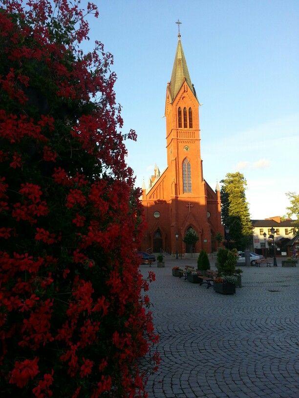 Kartuzy's church.