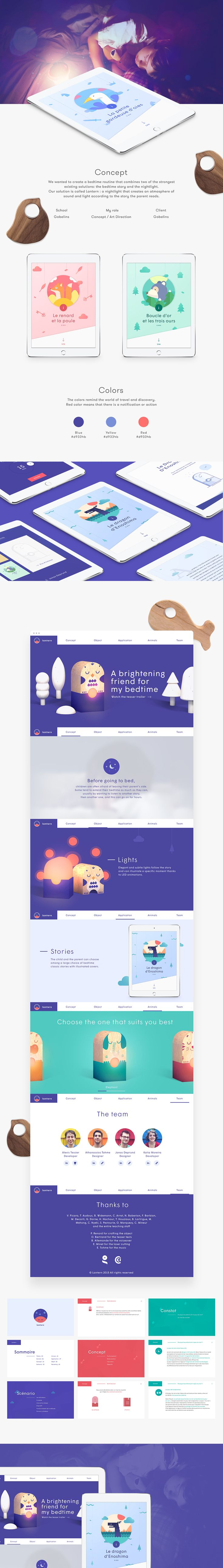 Lantern on Web Design Served