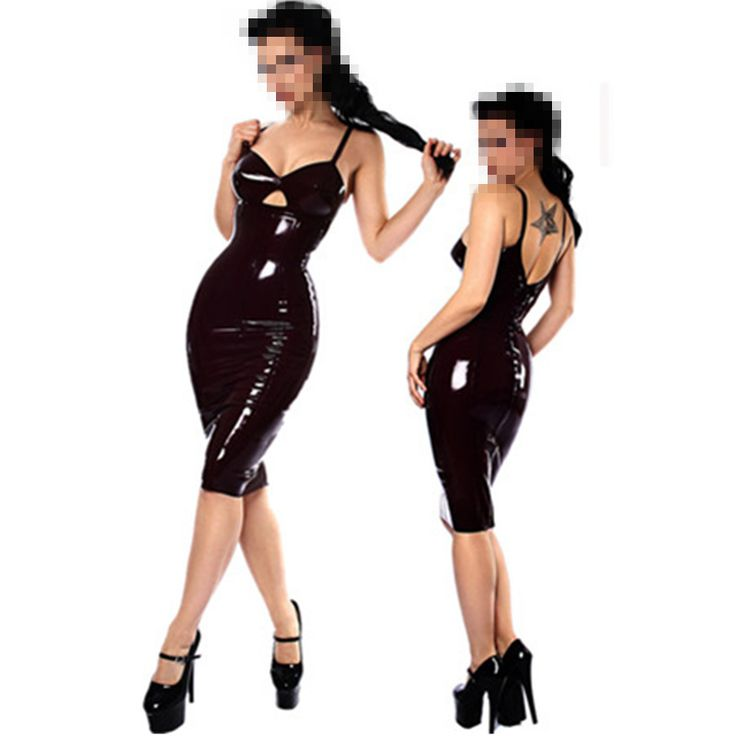 Free Shipping Tight Sexy Faux Leather Latex Catsuit Clubwear Sexy Erotic Dress Leather Fetish Latex PVC Catsuit Clubwear