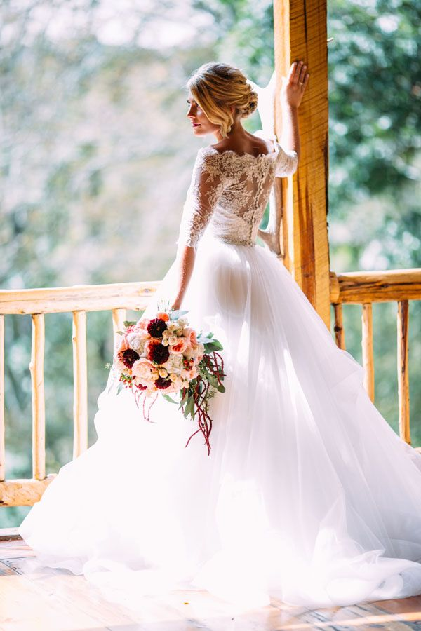 Lace and tulle ball gown | Love Chloe Lane