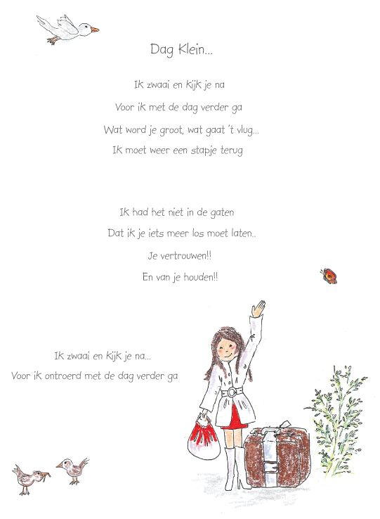 Dag klein, Corinne van Keeken
