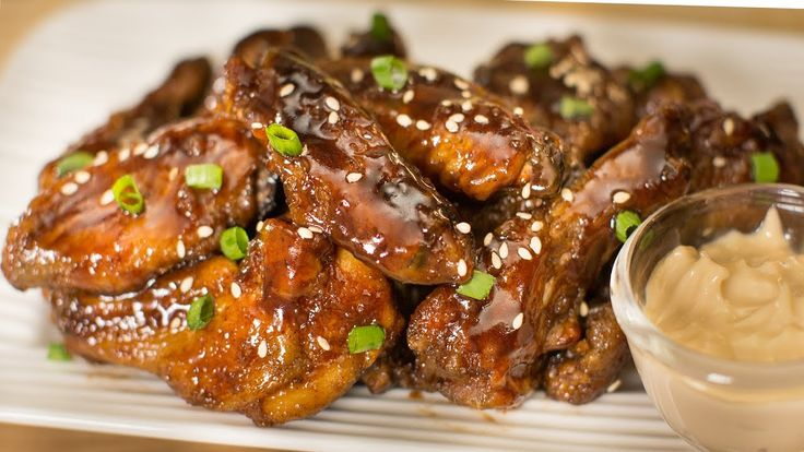 BEST TASTY Barbecue Chicken Wings / BBQ Chicken Wings