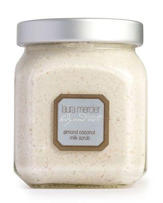 Almond Coconut Milk Scrub by Laura Mercier at Neiman Marcus.