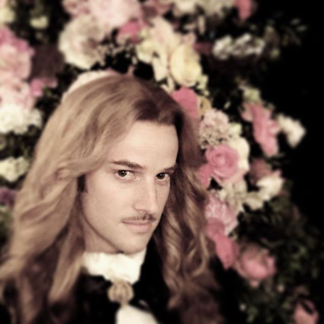 The amazing Evan Williams as the Chevalier de Lorraine in season 3 of the hit canal+ series Versailles
