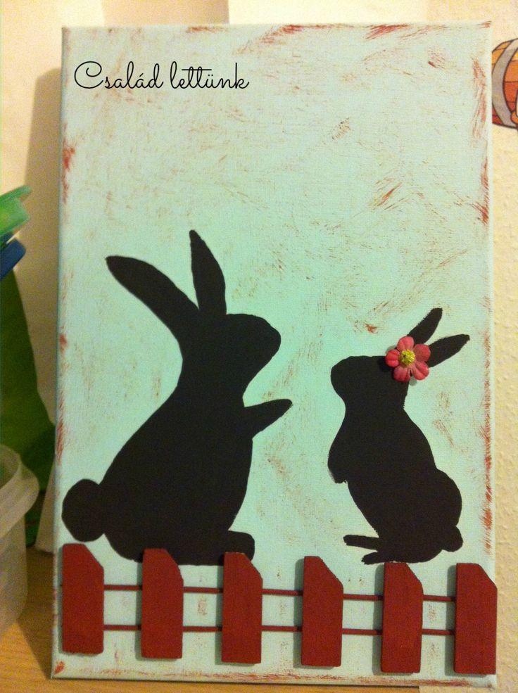 húsvét, dekoráció, festés, csináld magad, diy