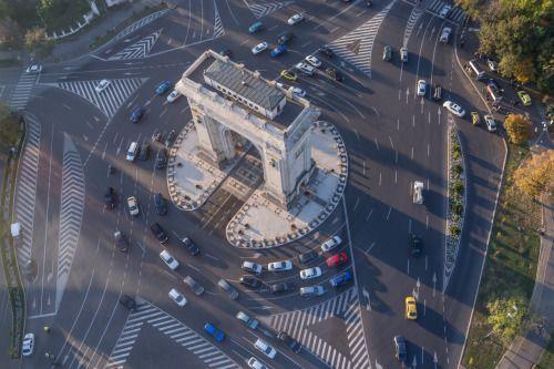 Bucharest by Alex Galmeanu.