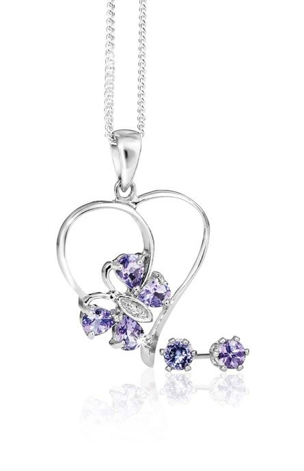 #myNWJwishlist Silver and Tanzanite Pendant With Free Chain and Earrings R988  *Prices Valid Until 25 Dec 2013