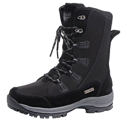 Oferta: 58.99€ Dto: -22%. Comprar Ofertas de Botas de nieve para hombre/botas de montaña/botas de cuero/botas impermeables/botas de invierno barato. ¡Mira las ofertas!