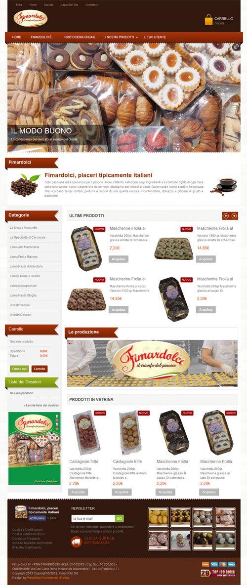 Ecommerce Pasticceria Artigianale
