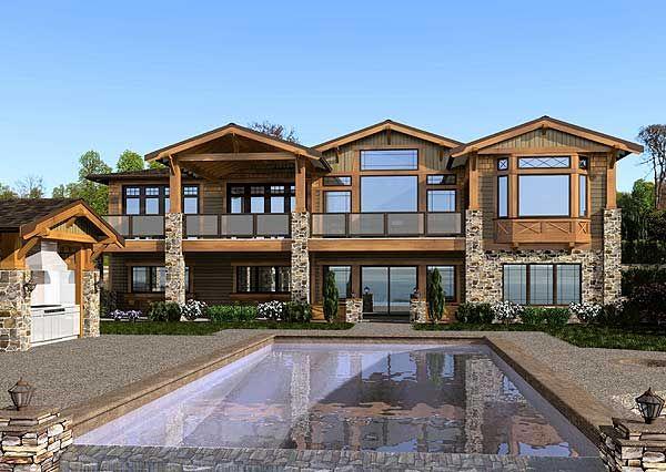 plan 23472jd mountain craftsman home in 2019 craftsman homes rh pinterest com
