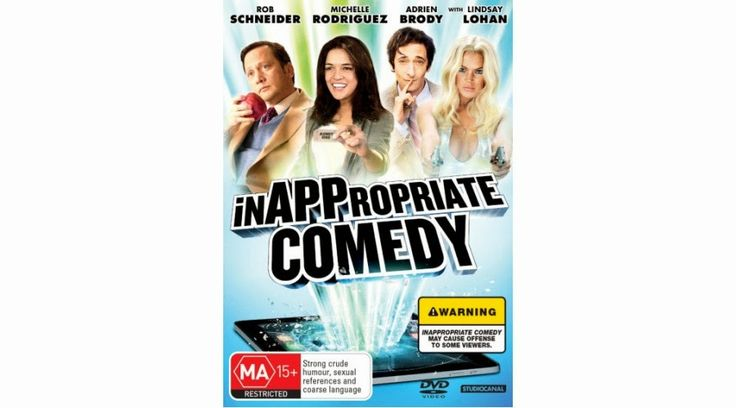 Many Months in Movies: InAPPropriate Comedy(SPOILERS)