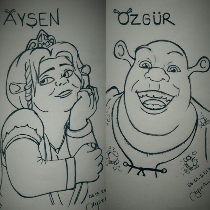 Shrek & Fiona ❤