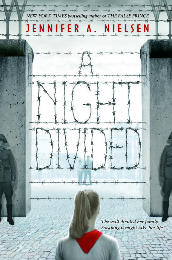 A Night Divided by Jennifer A. Nielsen. Gerta and her brother look for a way out of Berlin after the city is divided.