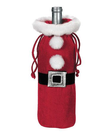 Santa Suit Bottle Bag