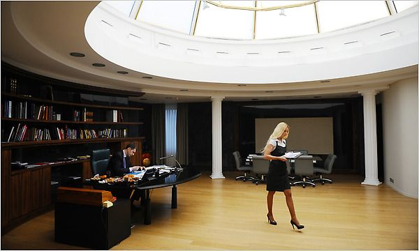 Mikhail Prokhorov's office